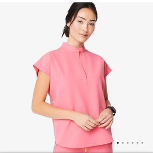 Figs Scrubs Neon Pink